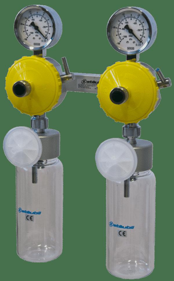 6.3.1 Vakuumregler mit direketem Wandanschluss