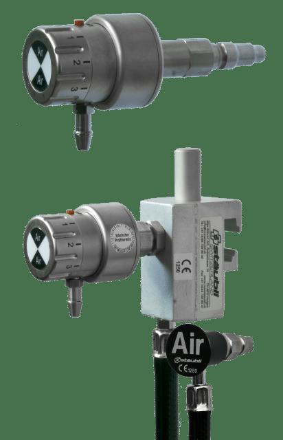 6.1.10 Air-Spender mit Durchflusswähler 1-15 Liter