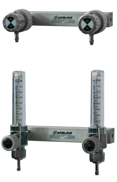 6.1.11 Doppel Air-Spender mit Flowmeter - Carba oder DIN