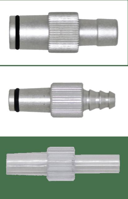 6.8.1 Stecknippel Vakuum / Absaugen