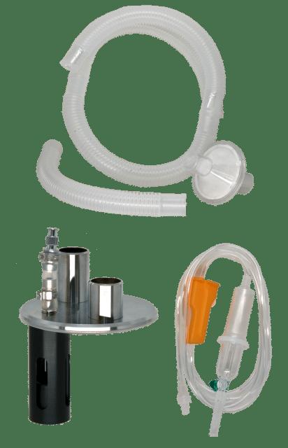 5.2.4 Accessoires pour humidificateur système ouvert